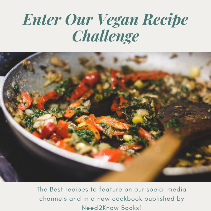 Share Your Vegan Recipe And Let's Get Cooking